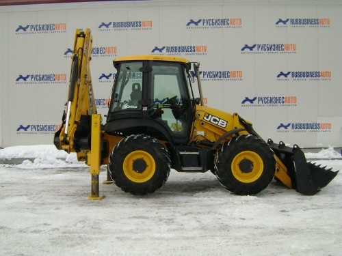 на фото: Экскаваторы-погрузчики JCB 3CXS14M2NM Super Б\У 2014 г.в.